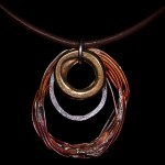 Small Brass Charm Pendant