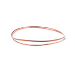 Wrap Around Copper Bangle